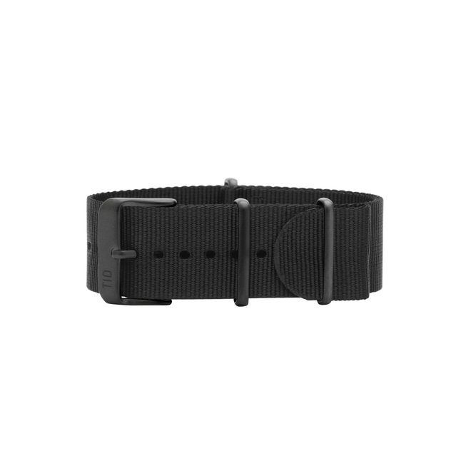 Black Nylon Wristband