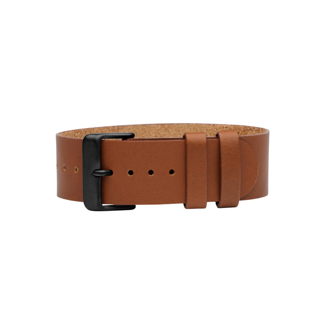 Tan Leather Wristband